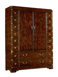 windward armoire henredon