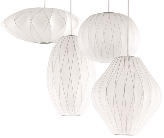 crisscross bubble lamp