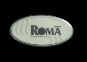 roma steam bath control